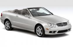 Mercedes-Benz CLK500 Convertible