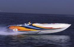 38 Ft. Cigarette Speed Boat